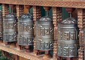 prayer wheels - manipadam