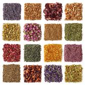 Dry tea-lavender,orange blossom, hibiscus,jasmin,chamomile,rosebud, elder flower,peppermint,rose pet