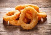 Onion rings tempura