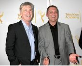 LOS ANGELES - APR 9:  Tom Bergeron, Todd Thicke at the An Evening with