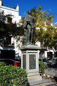 Don Juan statue, Seville, Spain.