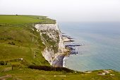 White cliffs Dover, Britain