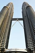 pic of petronas towers  - A view of Petronas Tower - JPG