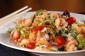 Shrimp Wonton Salad