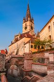 image of sibiu  - Evanghelical Church - JPG