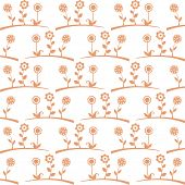 Seamless pattern of spring flowers