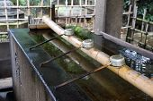 Shinto Shrine Purification Basin