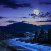 Going To Mountains At Night