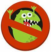 Bun sign to virus aggression.
