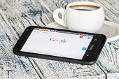 Google App Open In The Mobile Phone Htc