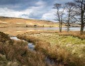 moorland reservoir yorkshire