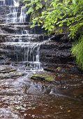 moorland waterfall