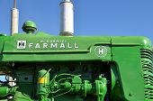 Farmall Tractor in John Deere Colors