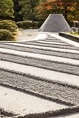 Zen Garden At Ginkakuji