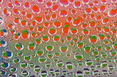 Colourful Water Drops