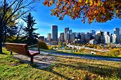 Autumn in Calgary, Canada