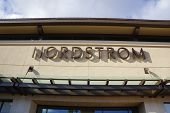 Nordstrom Department Store Sign  At The Ala Moana Center