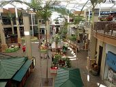 Farmers Market In Queen Kaahumanu Mall Featuring Fresh Local Produce And Snacks