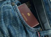 Blue Jean And Passport