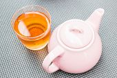 Cold Mix Berry Tea With Ceramic Pot
