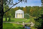 Temple Of Friendship In Pavlovsk Park, Saint Petersburg