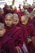 Monks In A Row