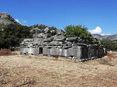 Roman public building in Sidyma.