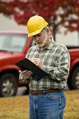 Construction Supervisor Writing Report