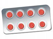 Placebo Pills Blister