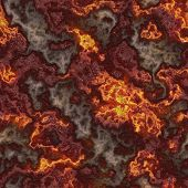 picture of magma  - Sealmess Lava Pattern as Glowing Magma Veins - JPG