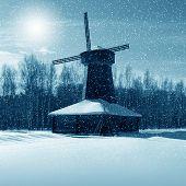 Winter Nature, Mill