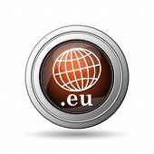 Globe and .eu Icon