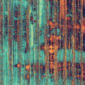 Old retro vintage texture. With brown, orange, green, blue patterns