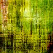 Art grunge vintage textured background. With yellow, brown, green patterns