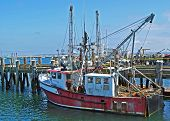 Old Provincetown Fishing Trawler