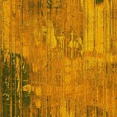 Old antique texture (for background). With yellow, brown, orange patterns