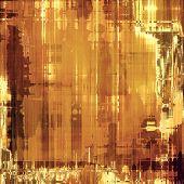 Grunge vintage old background. With yellow, brown, orange patterns