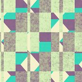 Grunge texture. Vintage background. With yellow, purple, green, gray patterns