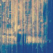 Vintage, textured background with grunge elements. With yellow, brown, blue patterns