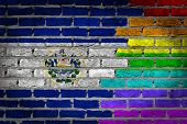 Dark Brick Wall - Lgbt Rights - El Salvador