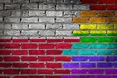 Dark Brick Wall - Lgbt Rights - Poland