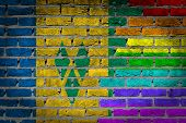 Dark Brick Wall - Lgbt Rights - Saint Vincent And The Grenadines