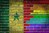 Dark Brick Wall - Lgbt Rights - Senegal