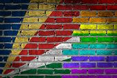 Dark Brick Wall - Lgbt Rights - Seychelles