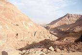 Vacation In Judean Desert Landscape Of Israel