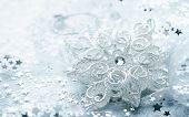 White Christmas Star