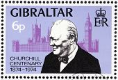 Churchill Stamp