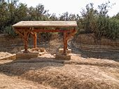 Place Where Jesus Was Baptized In Bethany, Jordan