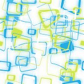 Abstract Seamless Pattern Of Blurred Colored Squares