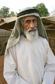 Elderly Arab Man